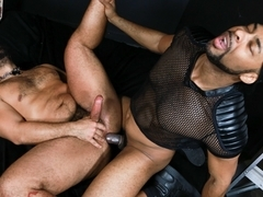 Trey Turner & Ray Diesel in Big Cock In The Back Room - PrideStudios