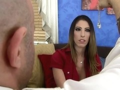 Tall, busty slut, Dava Foxx had wild sex with her therapist and enjoyed it a lot