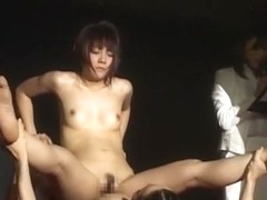 Crazy Japanese chick Aya Sakuraba, Yuuri Nanase in Incredible Squirting/Shiofuki, Dildos/Toys JAV .