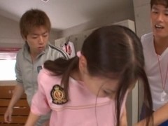Maho Ichikawa hardcore action with a blowjob and cumshot