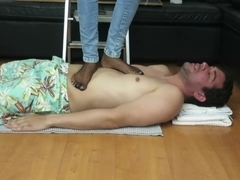 Trampling face , facebusting, kicking , HARD punishment to my bf