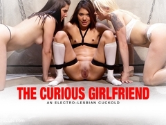 Eva Fenix  Lorelei Lee  Bobbi Starr in The Curious Girlfriend: An Electro-Lesbian Cuckoldan Electr.