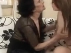Dirty dikes in old fucks young lez video
