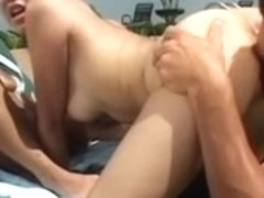 Avena Lee shows off her great love muffins by the pool and receives drilled by large jock