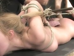Seducing Annette Schwarz is fucking in BDSM porn