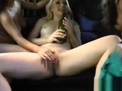 Big Tits In A Limo Babe