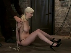 April's Live Show 1 of 4 Cherry suffers a Category 5 suspension! All tying done live & on scree
