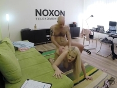 Angel Wicky is a delicious and horny blonde