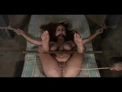 Villein Ashley Graham S&M Agony and Squirting in Slavery