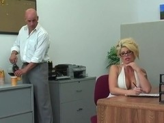 Brooke Haven plowed in her office