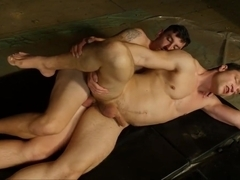Two Hot Guys Getting Tight Ass Fucked
