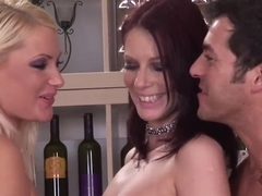 Gabriela and Marsha Lord have hot foursome