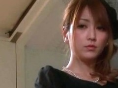 Exotic Japanese chick in Incredible Stockings/Pansuto, Handjobs JAV video