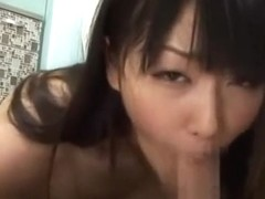 Horny Japanese chick Nana Usami in Fabulous Blowjob, POV JAV video