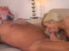 Iamporn - Nasty Old Perv Fucks Blonde Hottie