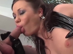 Saucy Brunette Gets Screwed Hard From Behind