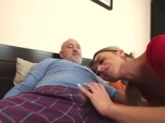 Ballerina Anna Thorne gets a dose of the grandpa dick