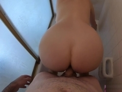 Fucking my stepdad in the shower