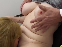 OldNannY British Mature Threesome Sex Toying