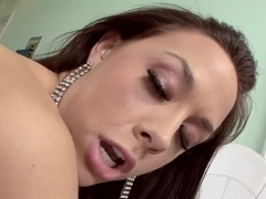Chanel Preston wonders if her feet could cum as this pecker