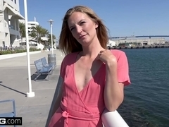 Married MILF Mona Wales innocent girl turned slut