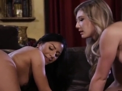Liv Revamped And April Aniston Dont Mind Sharing A Big, Black Dick During A Casual Threesome