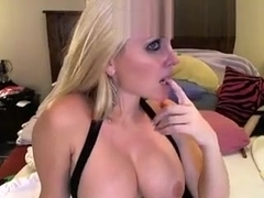 Hot Blonde Great Tits Fucked On Webcam 6