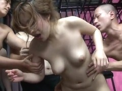 Japanese honey, Aiko Nagai gets fucked by many guys, uncenso