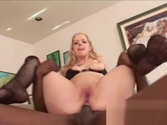 Anita Blue interracial anal