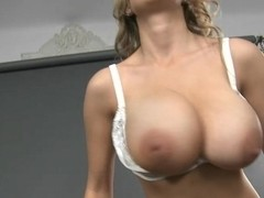 Sexy naked women shaking their tits