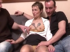A French Couple Invited A Friend To Fuck The Wife Hard