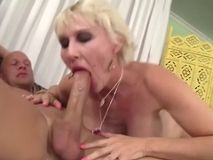 Fabulous pornstar Dalny Marga in hottest facial, blonde porn movie