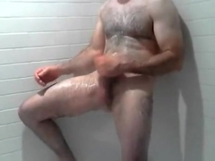 hawt shower hard schlong