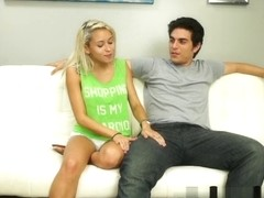 Marsha May Gives Stepbrother a Blowjob for Shopping Money
