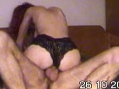 Busty wench hardly sucked man's cock before vaginal sex