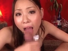 Incredible Japanese chick Anjie Esuwan in Fabulous JAV censored Fetish, College movie