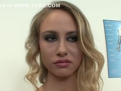 Exotic pornstar Charley Monroe in horny cumshots, blonde adult clip